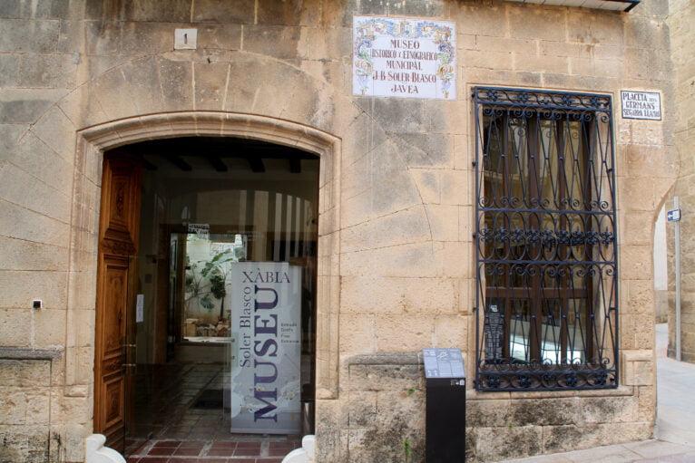 Entrada del Museo Soler Blasco