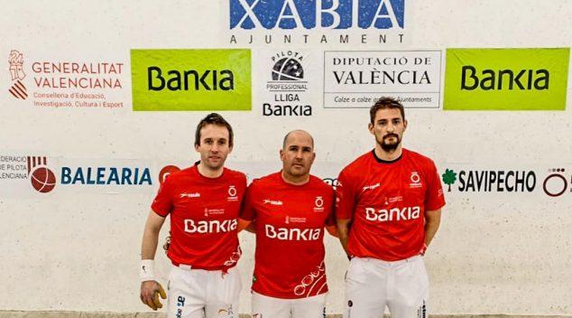 Imagen: Equipo de Dénia en la Lliga Bankia