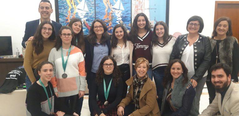 Equipos de niñas valencianas participantes en la final del Technovation Challenge 2018