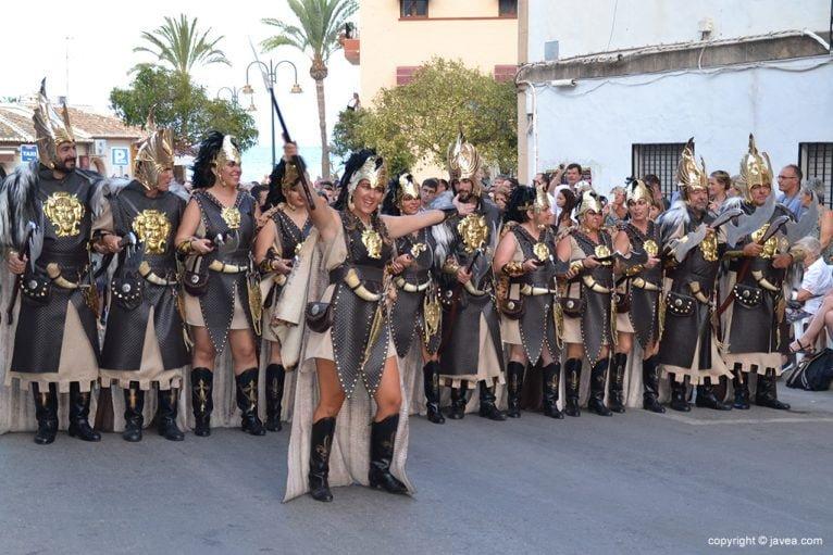 Escuadra mixta de la Filà Ballesters de Xàbia