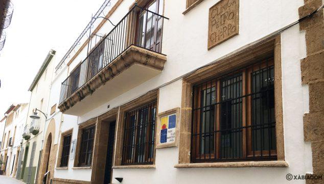 Imagen: Fachada del Juzgado de Paz de Jávea
