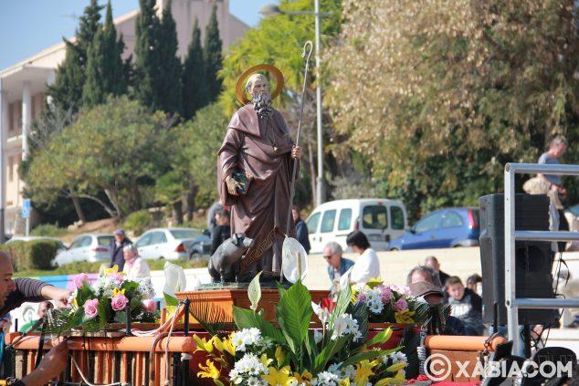Imagen: Festividad en honor a San Antonio