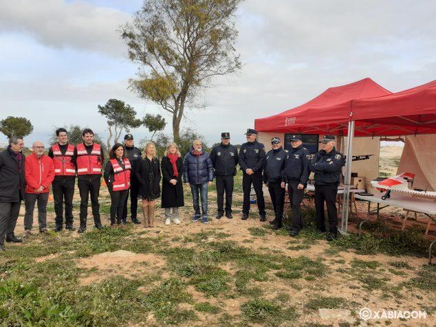 Imagen: Generalitat Valenciana realiza una demostración de vuelos con Dron en Les Planes