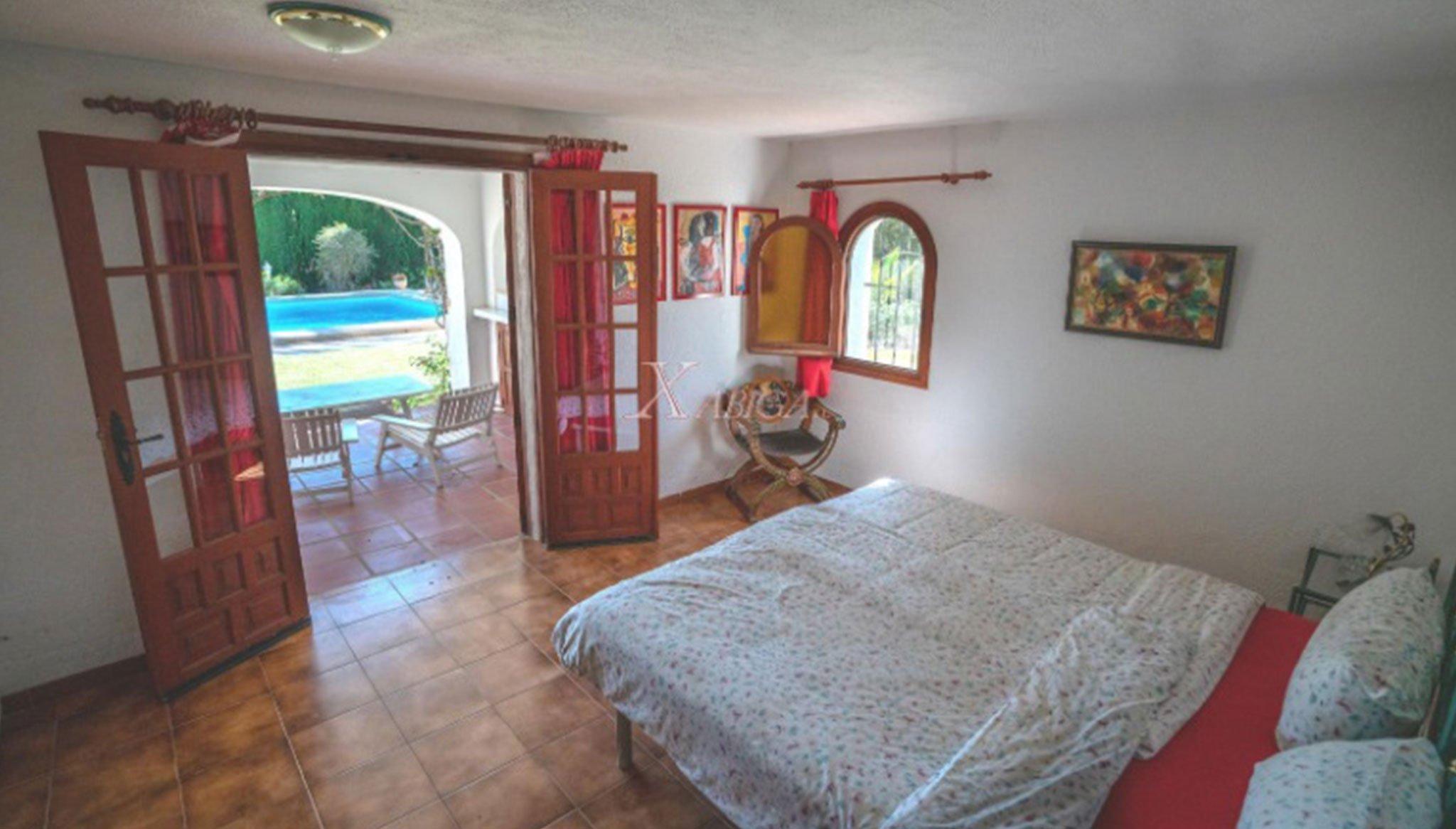Quarto numa vivenda à venda em Jávea - Xabiga Inmobiliaria