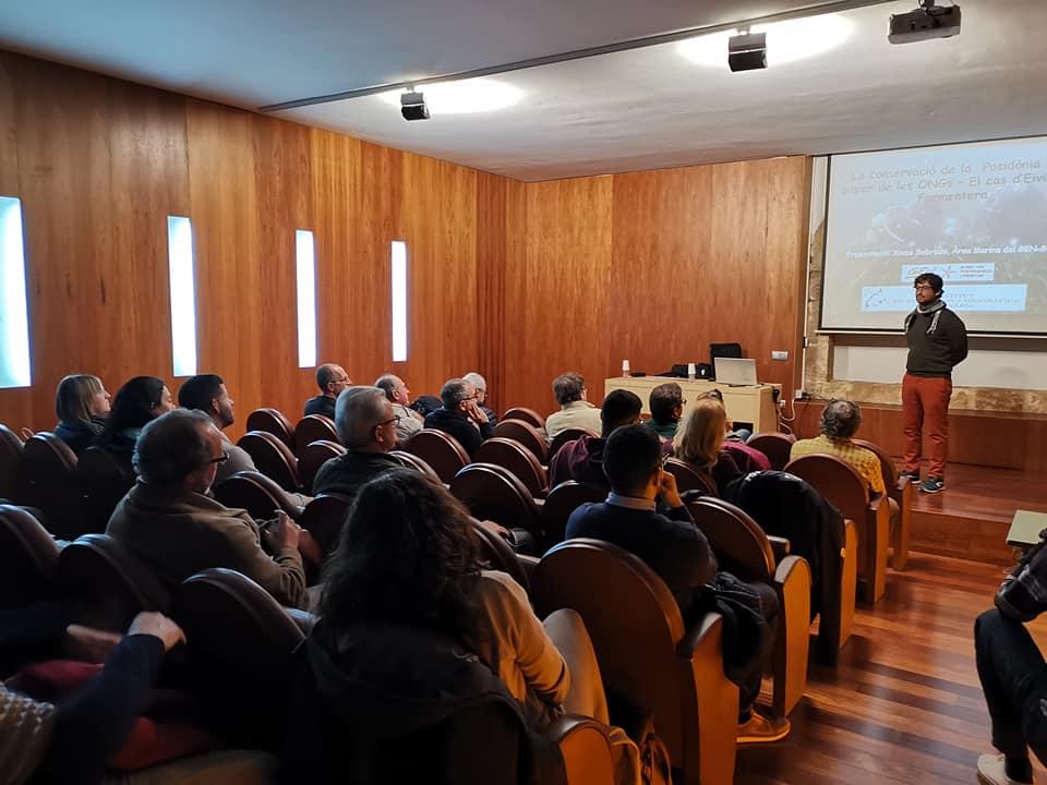 Jornada del IROX sobre la protección de la Posidonia con Xisco Sobrado