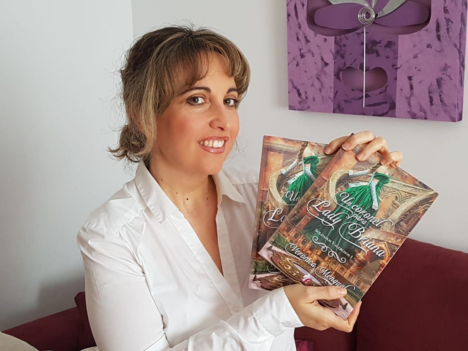La autora dianense con su nueva novela