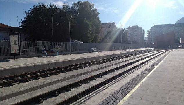 Imagen: Línea ferroviaria