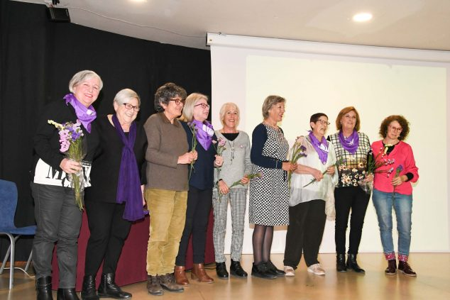 Imagen: Presentación del libro 25 anys de feminisme a la Marina Alta