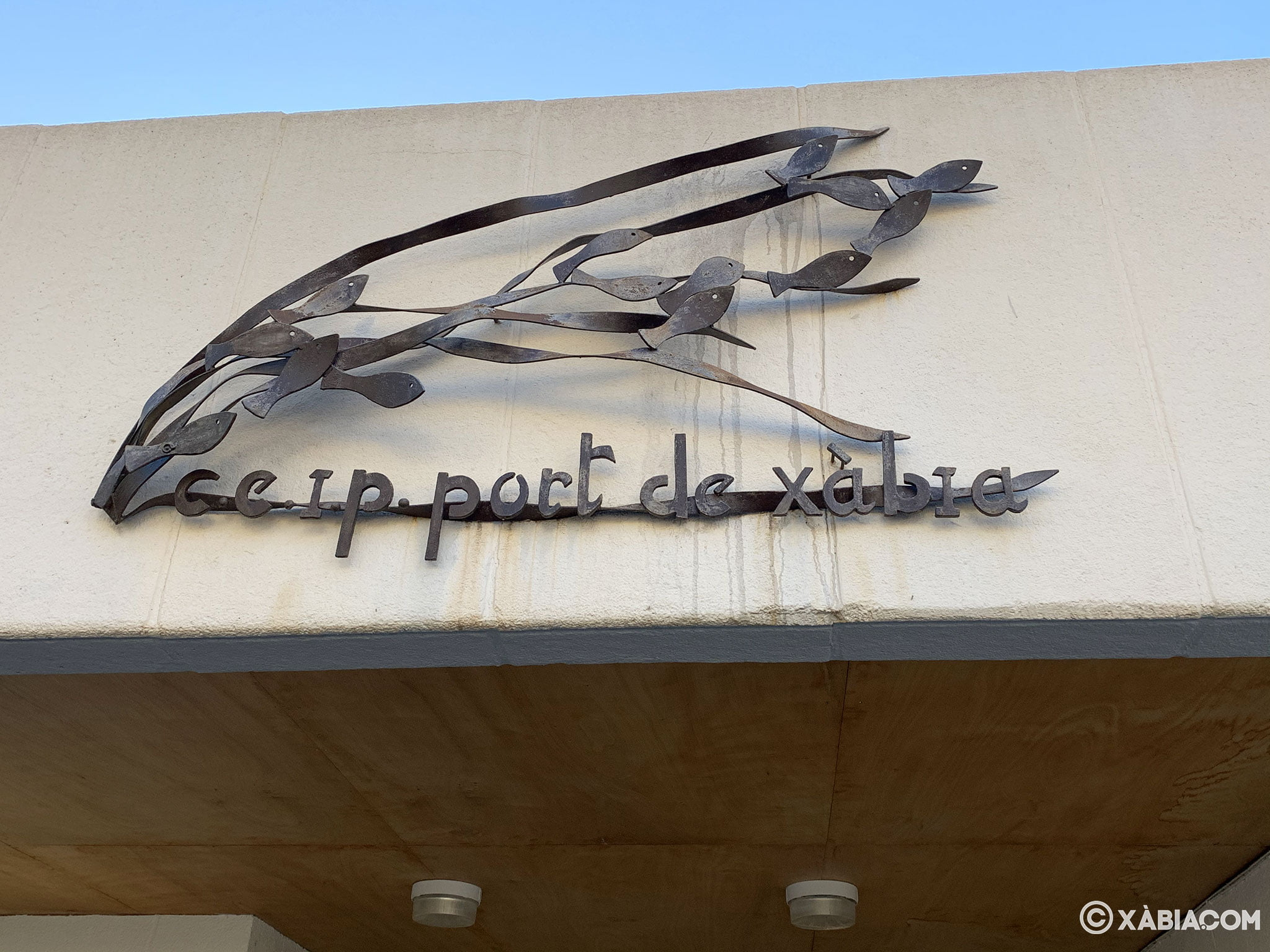 Logotipo del CEIP Port de Xàbia