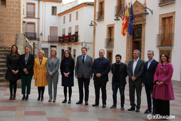 Image: The 11 consellers in Xàbia