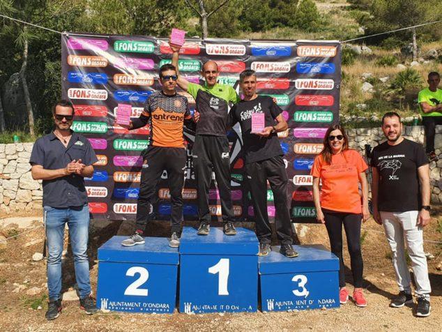 Imagen: Nasio en el podio