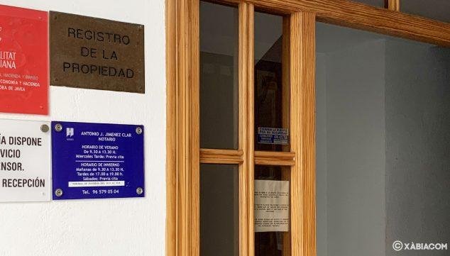 Imagen: Notaría Jiménez Clar de Jávea