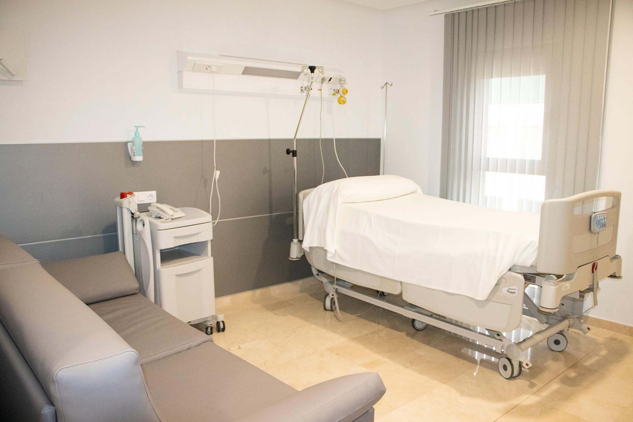 Nuevas habitaciones en Hospital HLA San Carlos