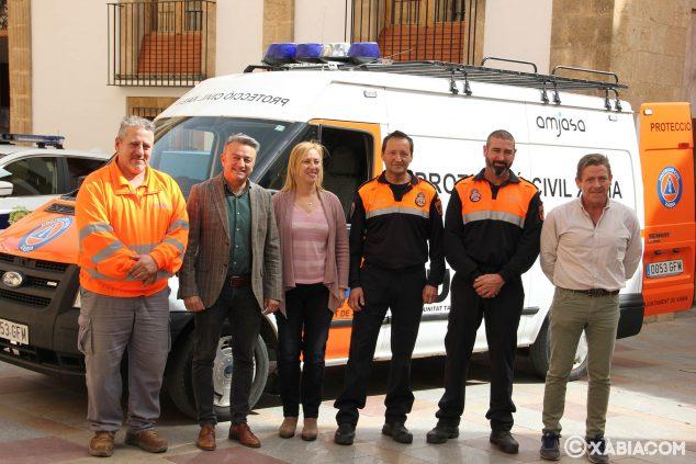 Imagen: Nuevo vehículo adquirido por Protección Civil Xàbia
