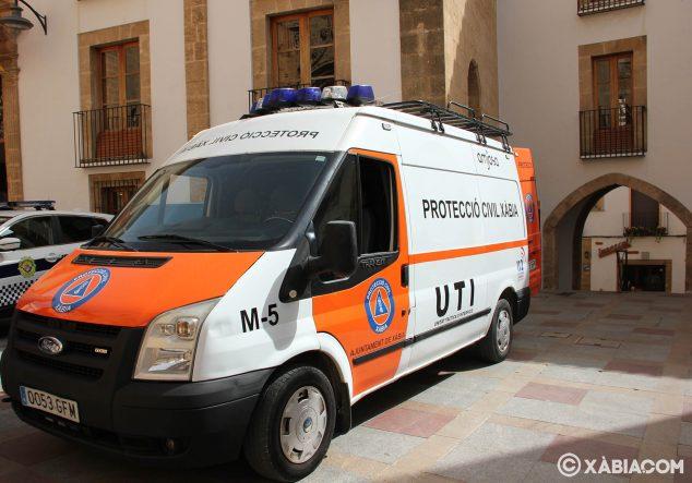 Imagen: Nuevo vehículo de Protección Civil Xàbia