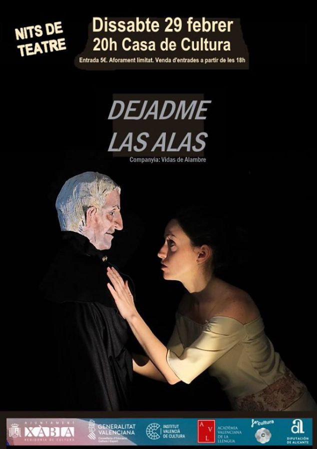 Imagen: obra de teatro en Xàbia