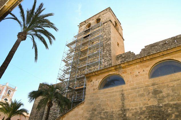 Imatge: Obres Església de Sant Bartomeu