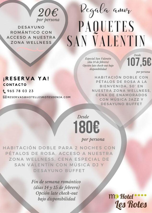 Imatge: Packs de Sant Valentí a Hotel Les Rotes