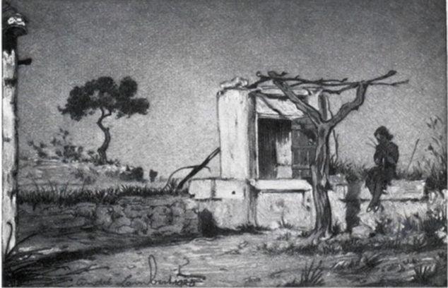 Imagen: Entorno natural - André Lambert (Foto: https://esthisart.blogspot.com/ Blog de Estudios Valencianos Histórico-Artísticos)