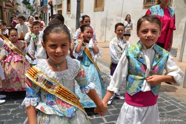 Imagen: Pareja de xabierets en Les Fogueres de Sant Joan