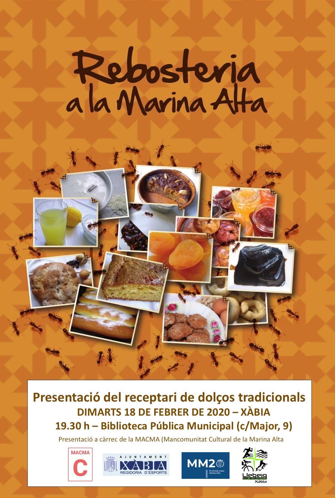 Presentación del libro de recetas en Xàbia