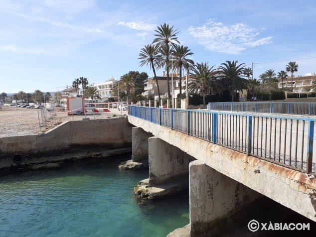 Immagine: Ponte Triana chiuso
