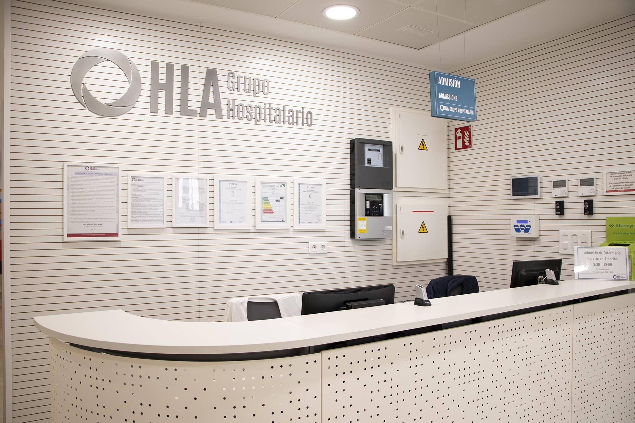 Recepción de las nuevas instalaciones de HLA San Carlos