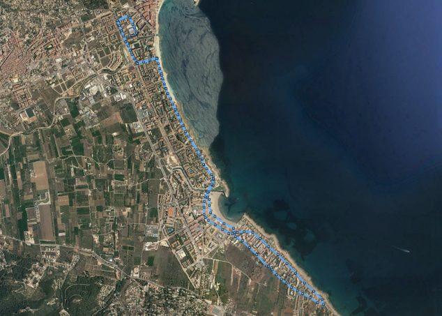Imatge: Recorregut Volta a Peu Xàbia 2020