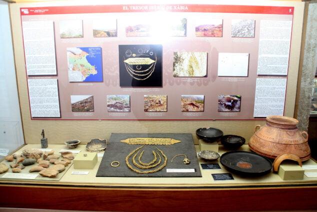 Imagen: Réplica del tesoro de Xàbia