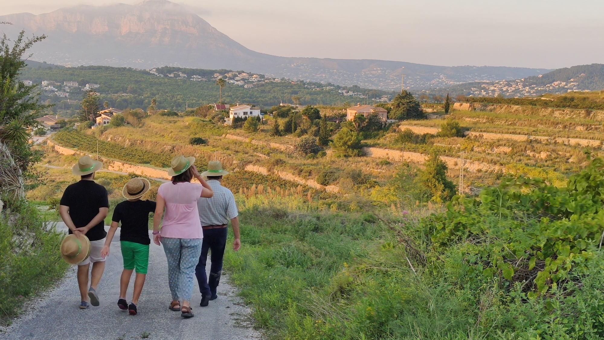 Rutas turísticas de El Poble Nou de Benitatxell