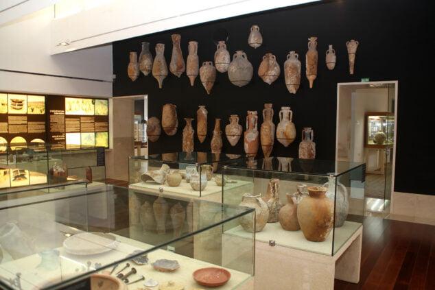 Imagen: Sala de Arqueología submarina