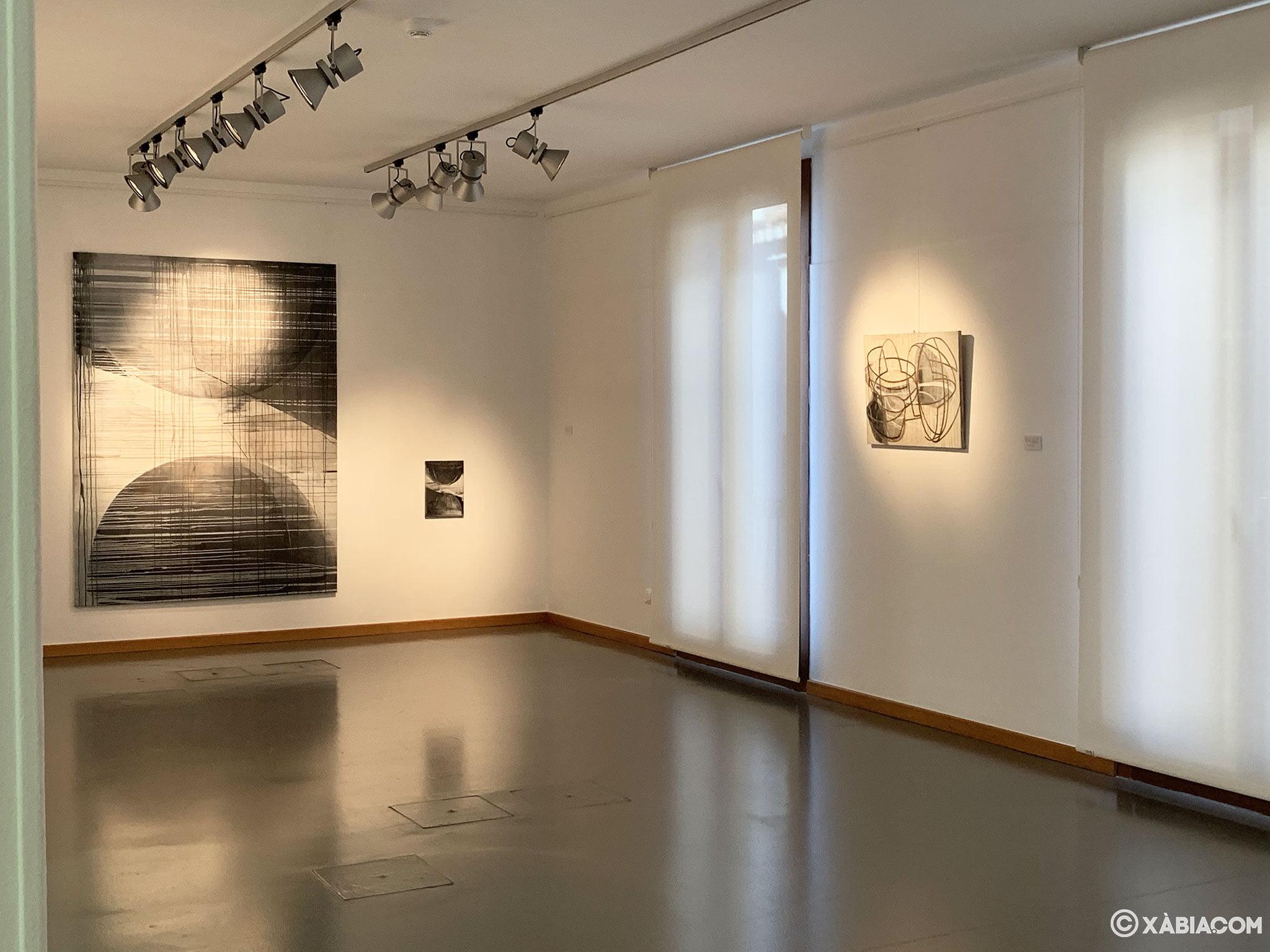 Sala del Centre d'Art Ca Lambert en Jávea