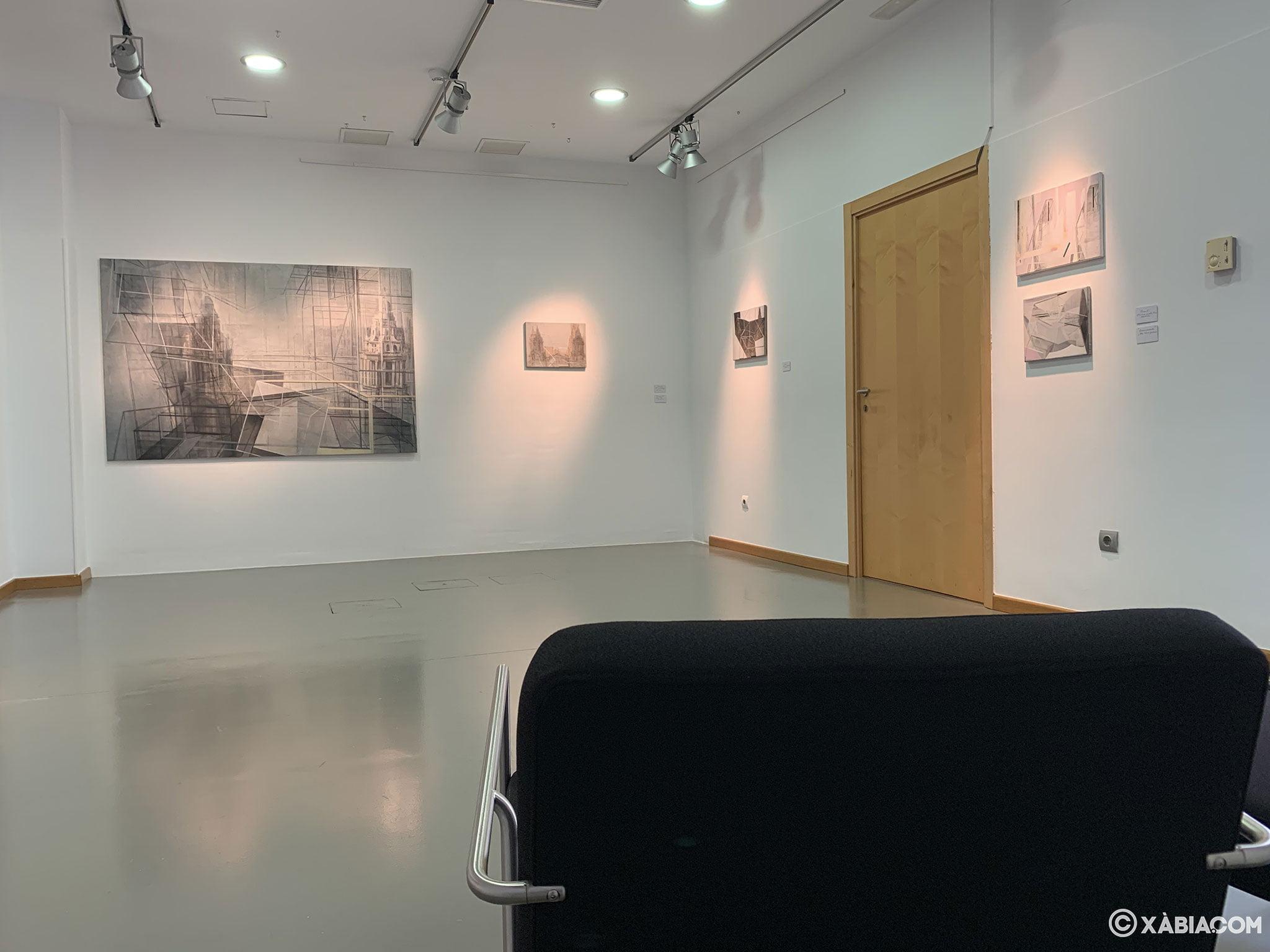 Sala de exposiciones en Xàbia, en pleno centro histórico: el Centre d'Art Ca Lambert