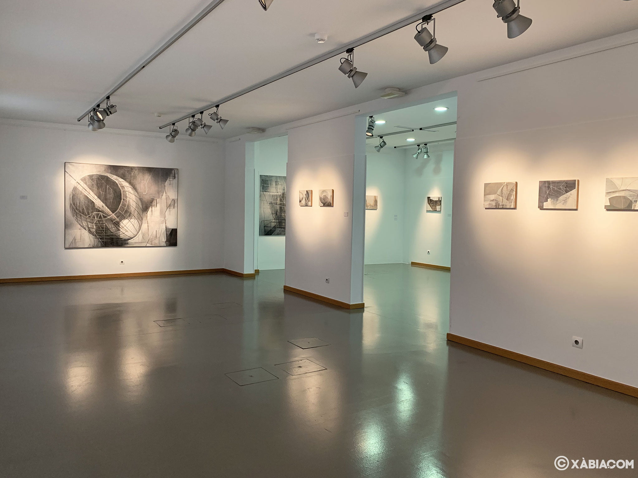 Sala de exposiciones en el casco histórico de Jávea, el Centre d'Art Ca Lambert