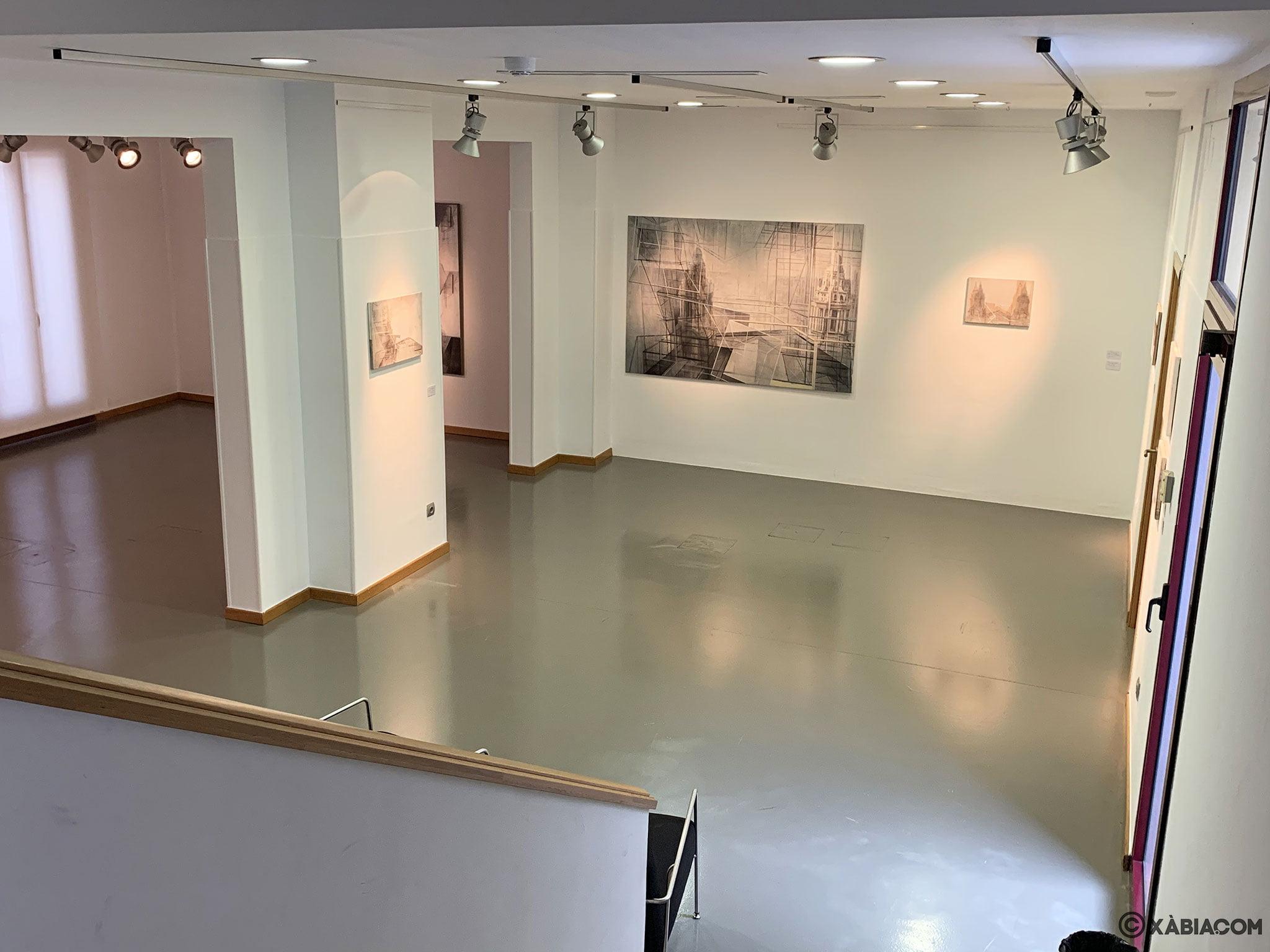 Sala de exposiciones en el centro de Jávea, el Centre d'Art Ca Lambert