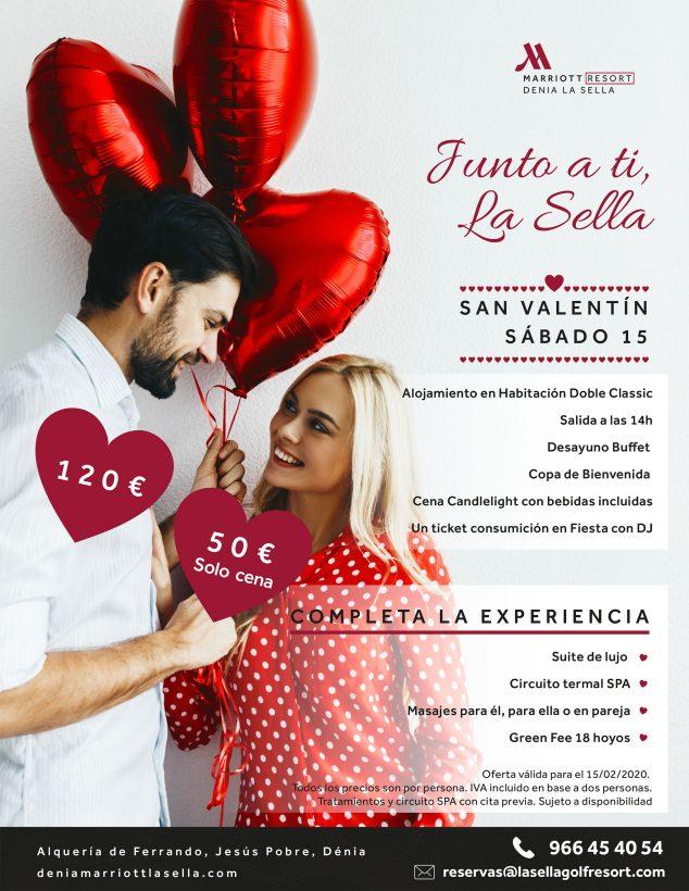 Imatge: Sant Valentí a l'Hotel Dénia Marriott La Sella Golf Resort & Spa