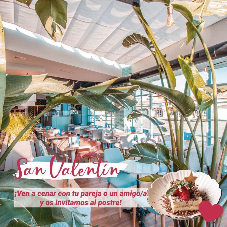 Celebra San Valentín en Restaurante Ammos con un bonito detalle