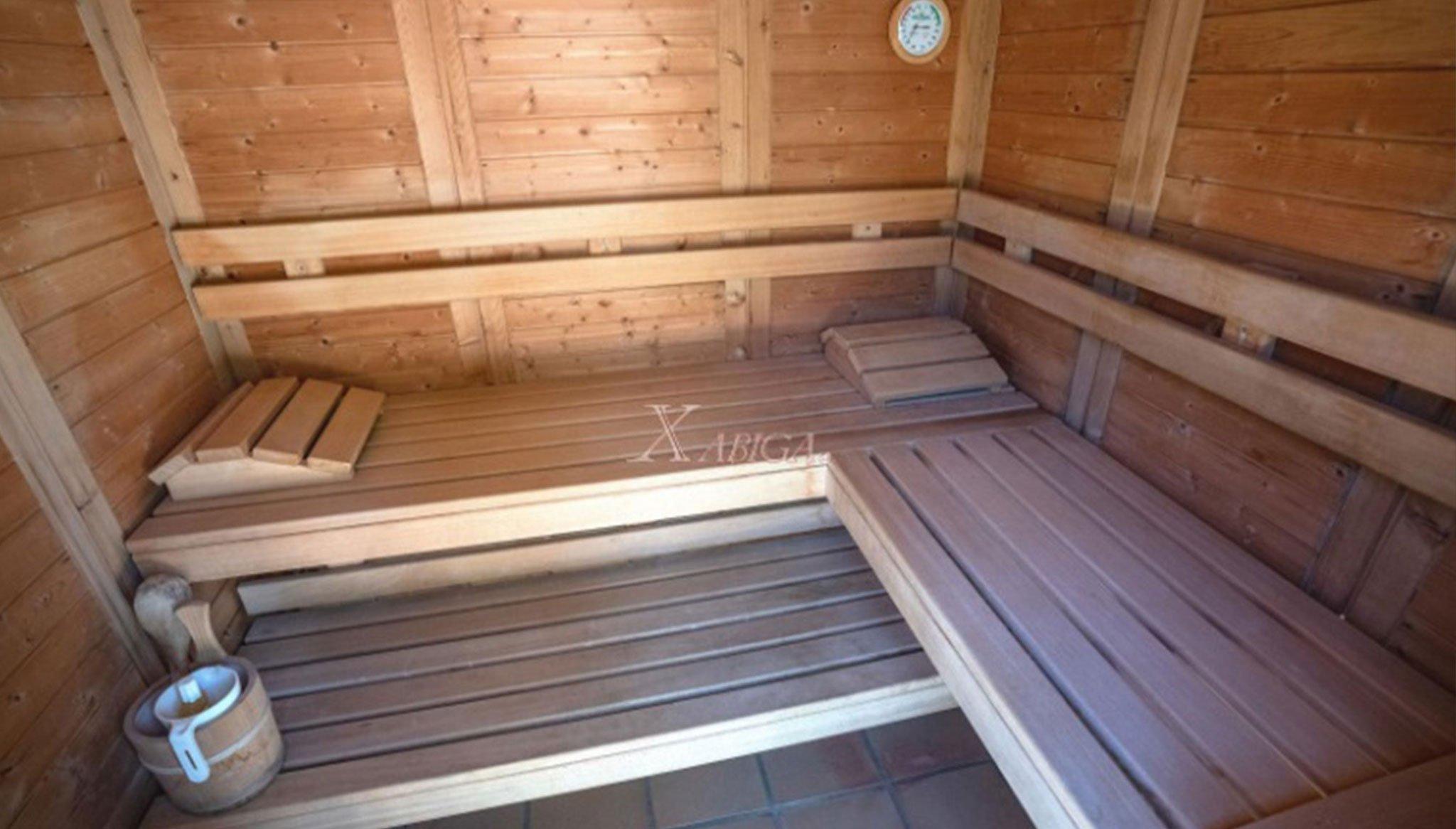 Sauna em uma vivenda à venda em Jávea - Xabiga Inmobiliaria