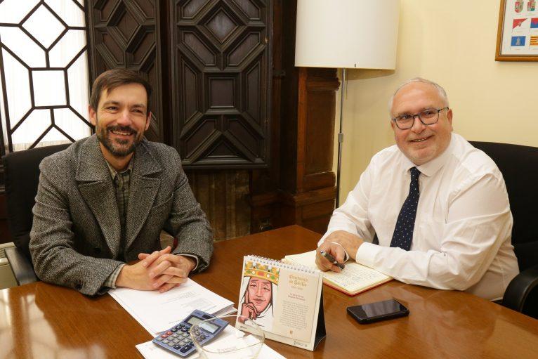 Toni Such y Miguel Ángel García