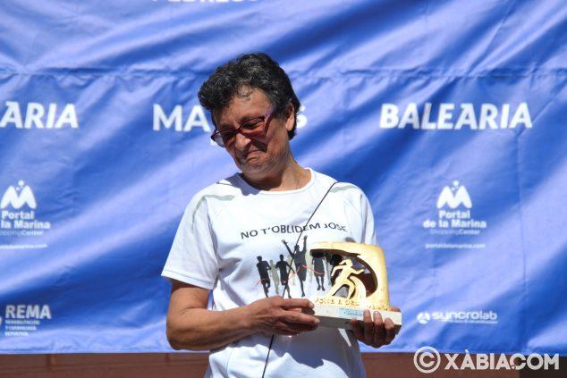 Imatge: Trofeu a la mare de José Albi, Memorial de la Volta a Peu