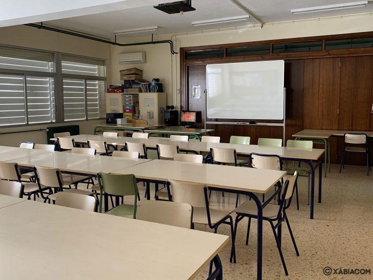 Aula del CEIP Trenc d'Alba de Jávea