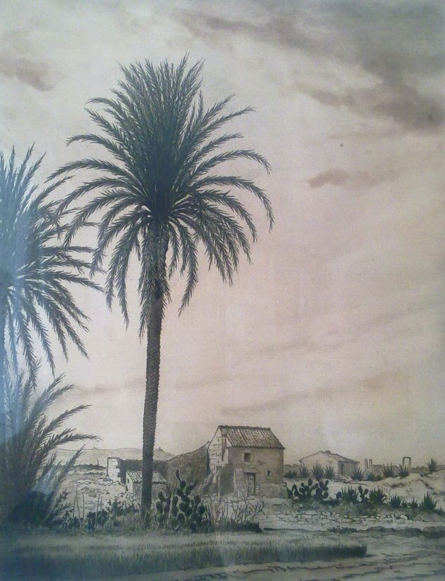 Imagen: Paisaje - André Lambert (Foto: https://esthisart.blogspot.com/ Blog de Estudios Valencianos Histórico-Artísticos)