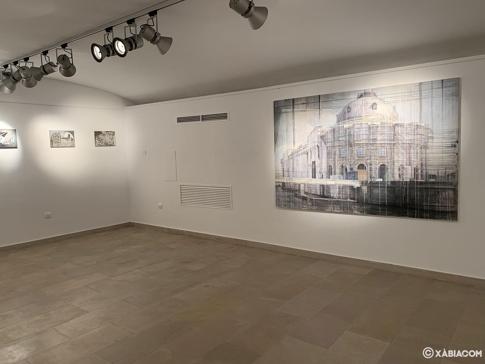 Exposición temporal en el Centre d'Art Ca Lambert de Xàbia