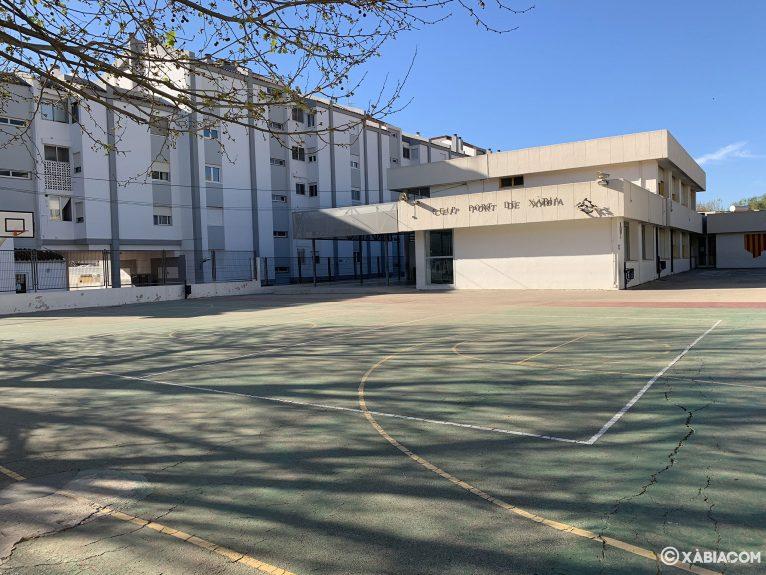 Vista general del CEIP Port de Xàbia