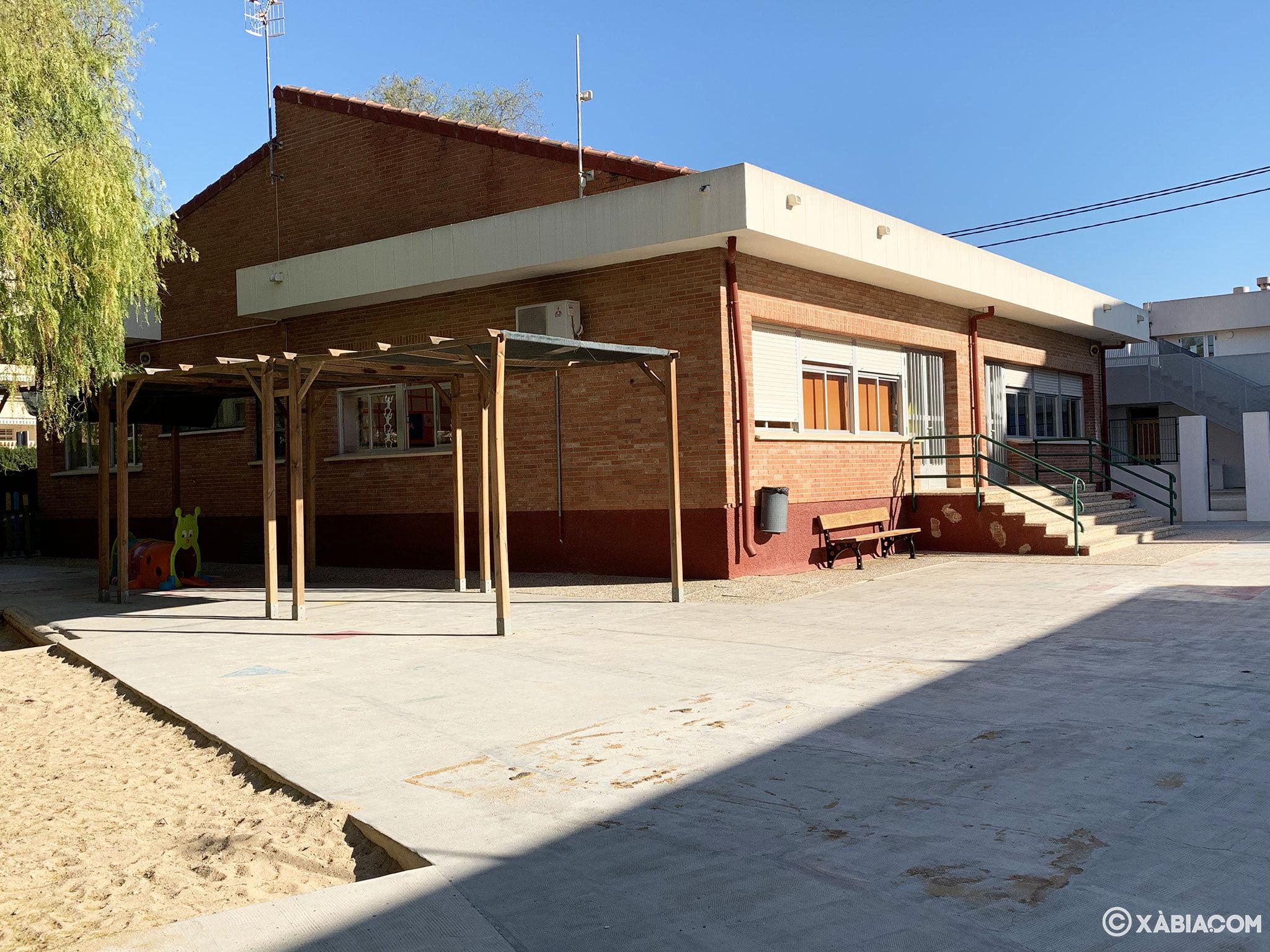 Zona infantil en el Colegio Port de Xàbia