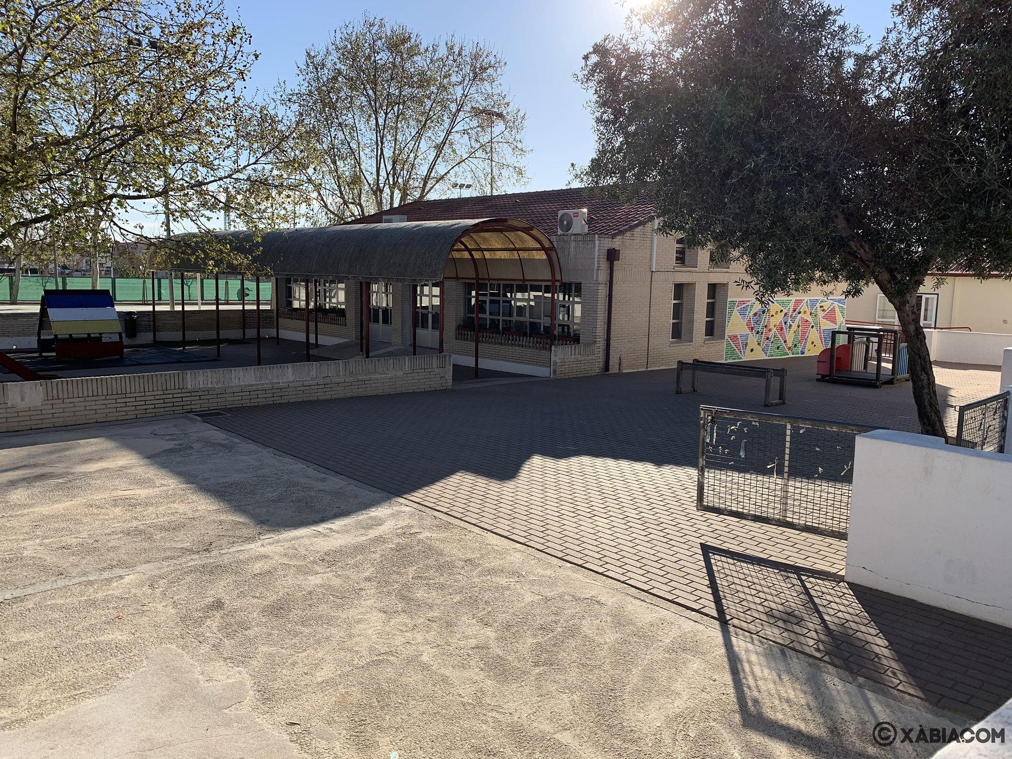 Zona infantil del CEIP Trenc d'Alba de Jávea