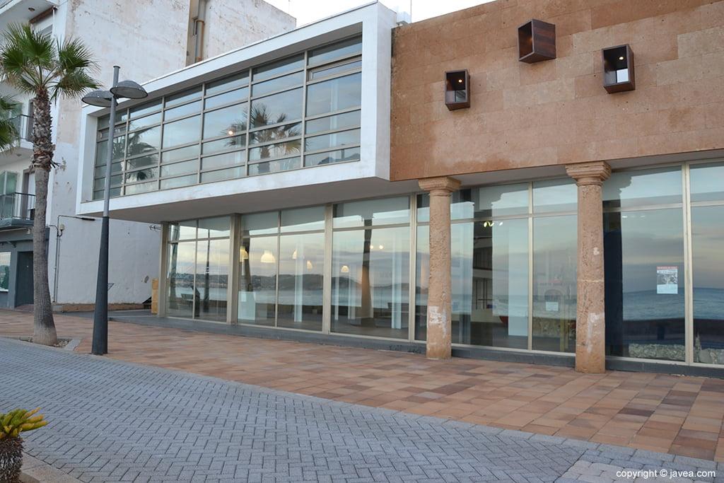 Sala de exposiciones de la Casa del Cable