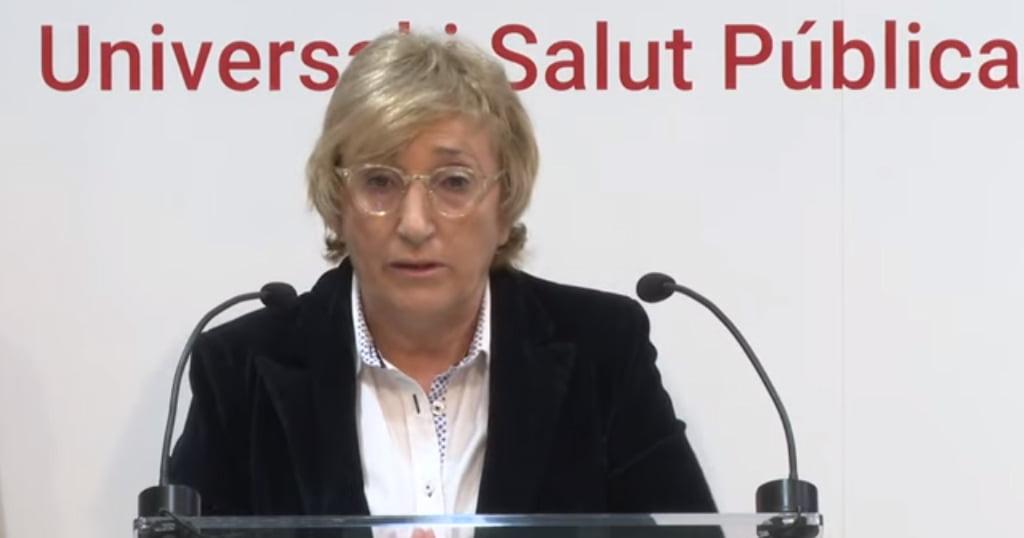 Ana Barceló, comparecencia viernes 27 de marzo