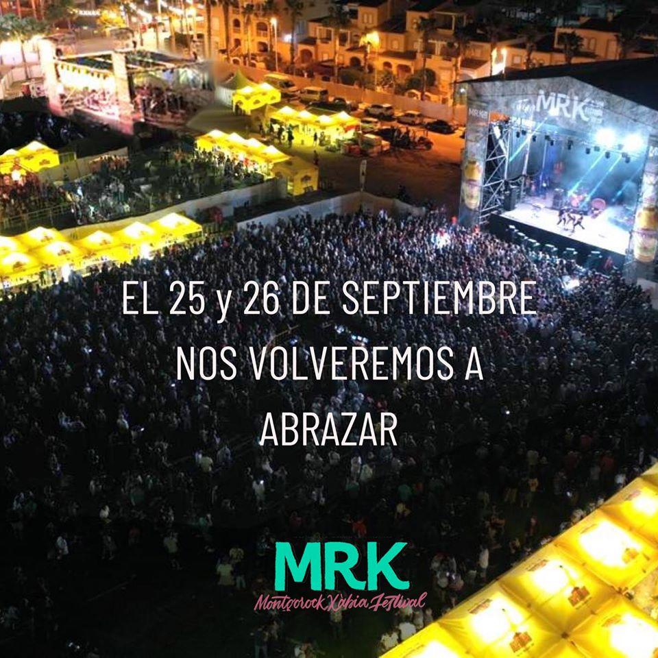 Aplazado el Montgorock Xàbia Festival