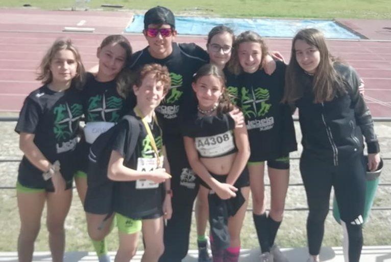 Atletas del CA Llebeig en Alicante